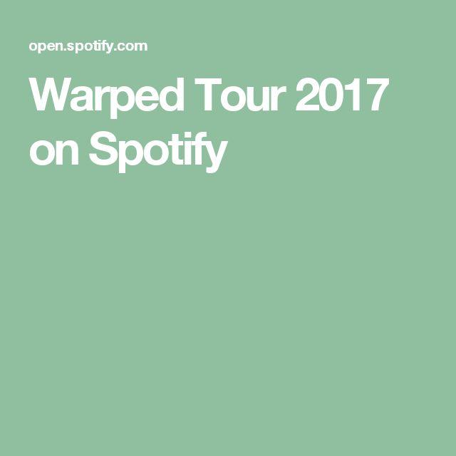 Warped Tour 2017 on Spotify