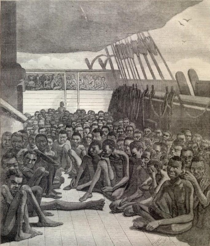 Images that inspired me for the scenes on the Slave Ship!