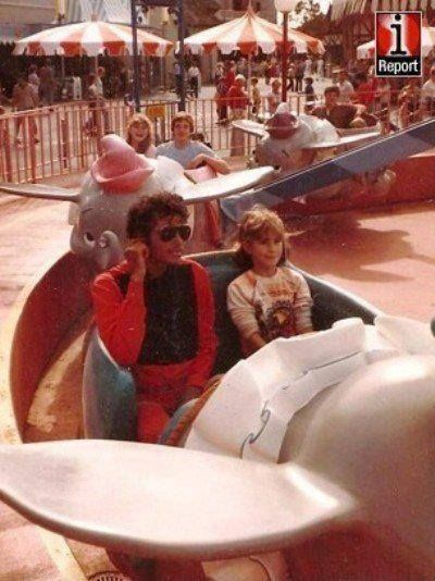 Can you imagine riding a ride at Disneyland with Michael Jackson?  :)