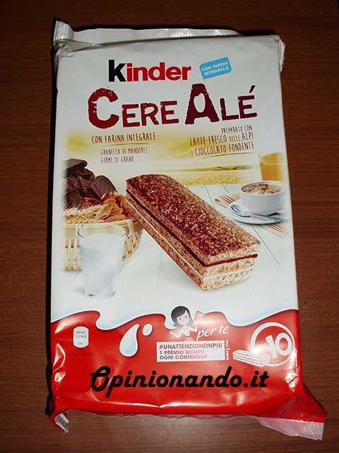 Kinder CereAlé Confezione - #recensione #opinionando