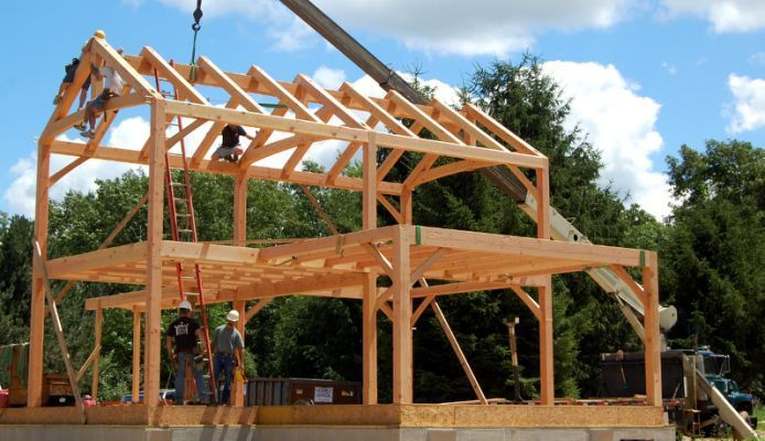 12 Best Timber Frame Home Images On Pinterest Wooden