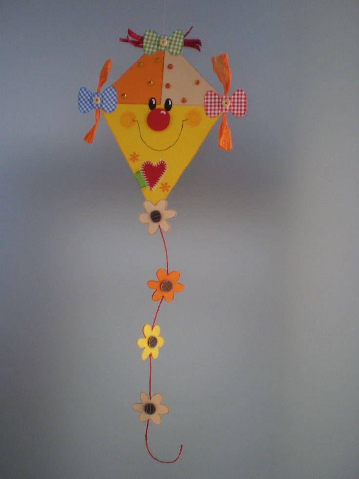 Fensterbild lustiger Drache gelb -Sommer-Herbst- Dekoration - Tonkarton! • EUR…