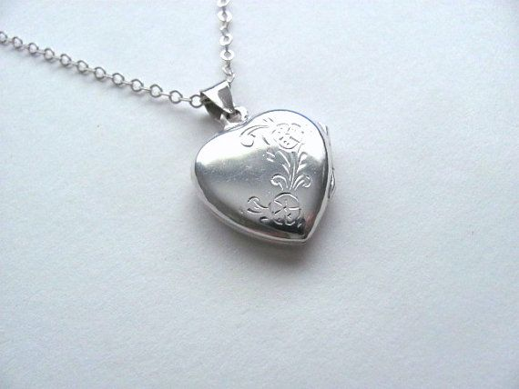 Gorgeous sterling silver engraved vintage by MySoCalledVintage