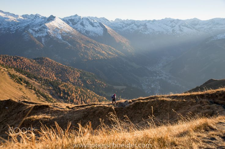 "Autumn Hiking in the Alps - Hiking in beautiful autumn light to the top of Gamskarkogel (2467m) in Gastein, Austria.  Image available for licensing.  See more of my work here:  <a href=""http://www.oberschneider.com"">www.oberschneider.com</a>  Facebook: <a href=""http://www.facebook.com/Christoph.Oberschneider.Photography"">Christoph Oberschneider Photography</a> follow me on <a href=""http://instagram.com/coberschneider"">Instagram</a>"