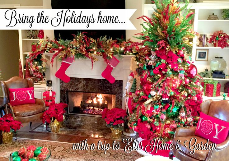 Attrayant Bring The Holidays Home This Year With A Trip To Ellis Home And Garden |  Christmas | Pinterest | Home And Garden, Christmas Decor And Trips
