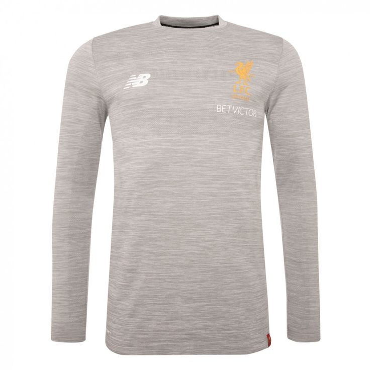 Buy LFC Mens Grey Marl Training Power Long Sleeve Jersey 17/18 | Liverpool FC Official Store