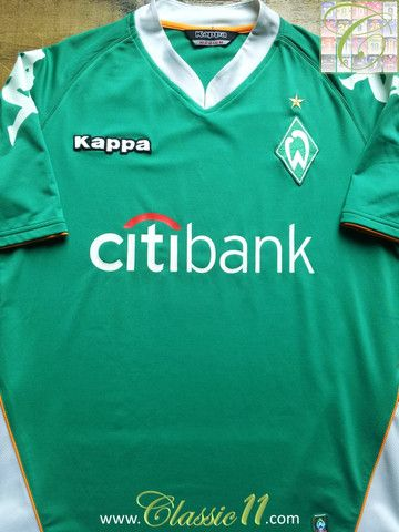 Relive Werder Bremen's 2007/2008 season with this vintage Kappa home football shirt.