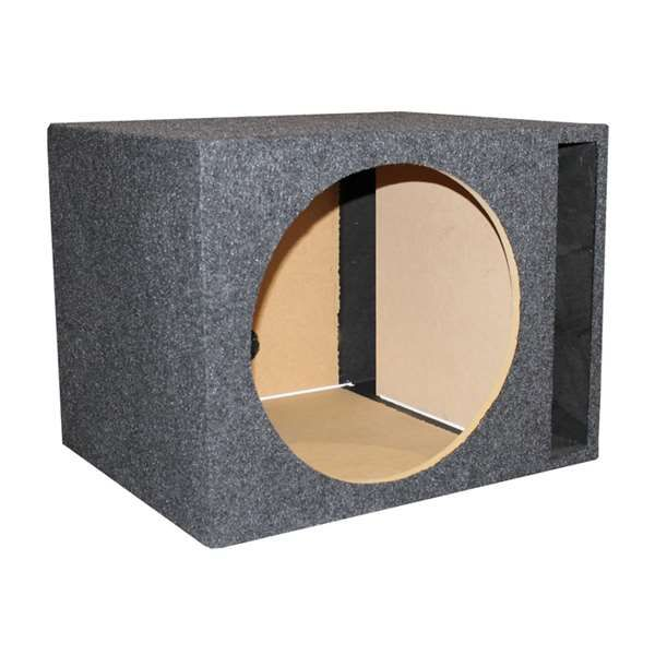 """Q-Power Single 15"""" Ported Subwoofer Box, #QPower, #QSBASS15-VENTED"""