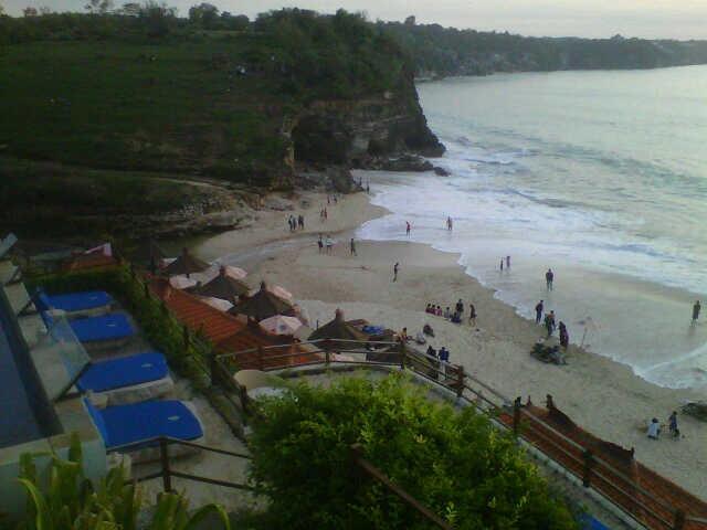 Dreamland beach in Pecatu