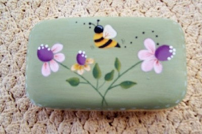 Spring Flowers Guest SoapHandpainted by Primgal on Etsy, $5.00