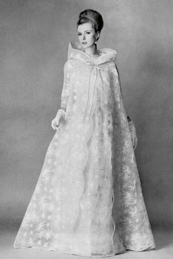 1963 Jacques Griffe   Wedding Dress