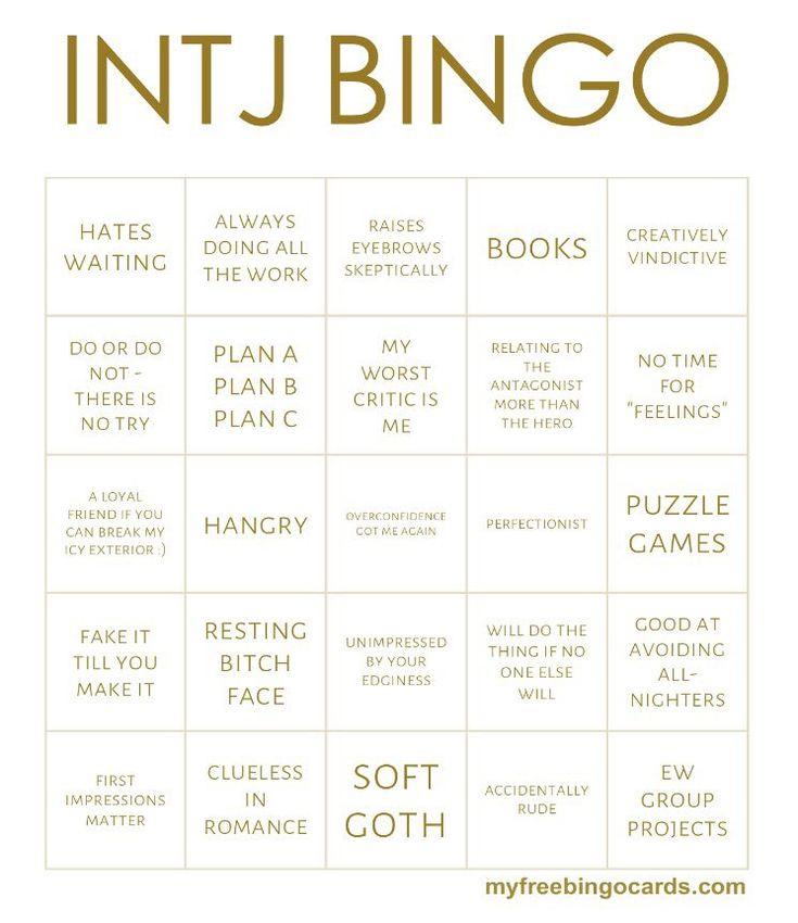 intj bingo