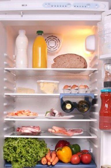 A hűtőszekrény szagtalanítása