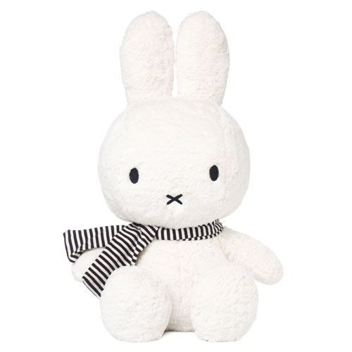 I have fond memories of watching Miffy when I was little and this soft toy is just adorable :)