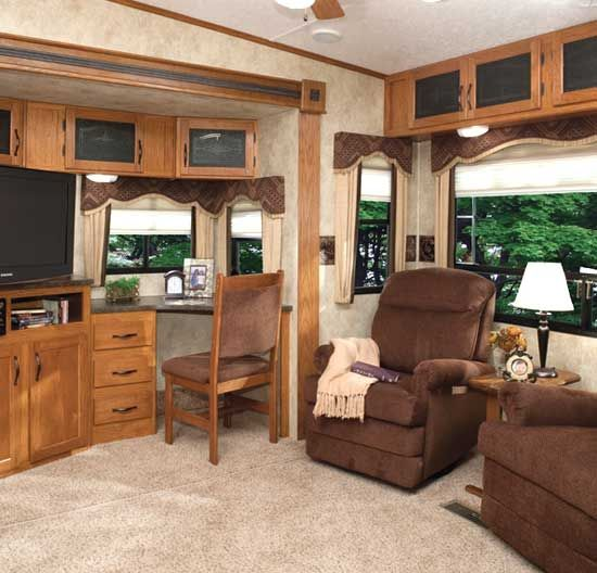24 best rv desk images on pinterest campers camping and for Living room 4x4