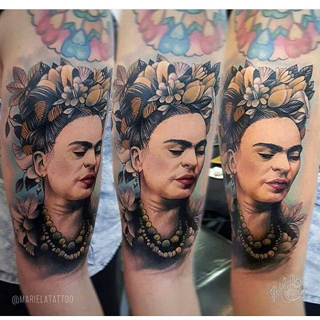 590 best images about frida kahlo on pinterest for Electric ink tattoo