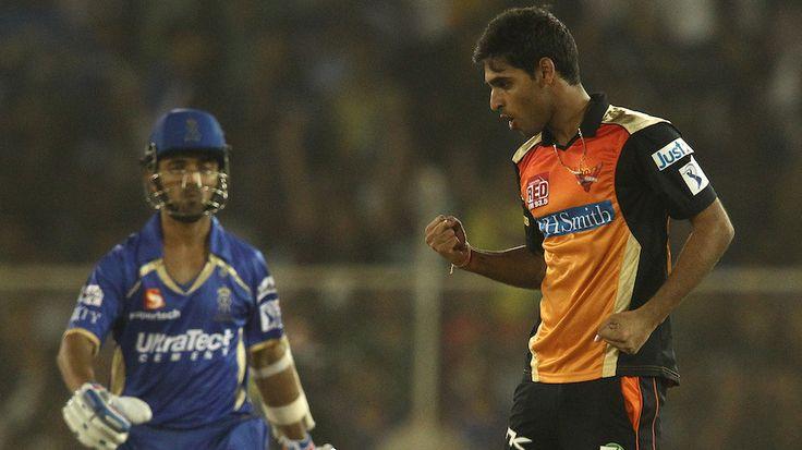 Bhuvaneshwar Kumar Helps SRH To Defend 134