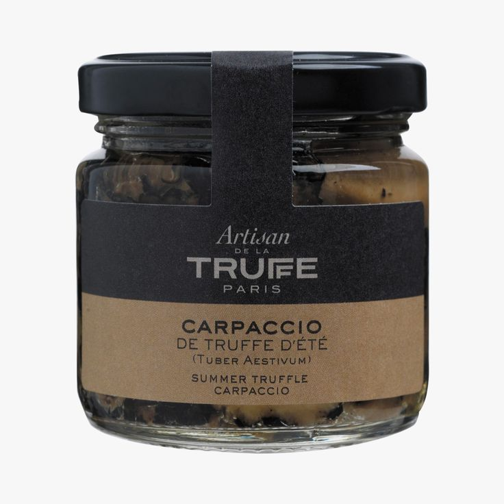 Carpaccio de truffe d'été - Artisan de la truffe - Find this product on Bon Marché website - La Grande Epicerie de Paris