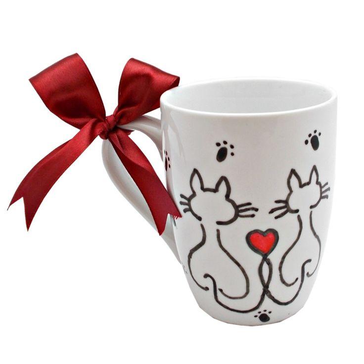 O cana perfecta pentru sufletele indragostite...  ... de pisici! :)