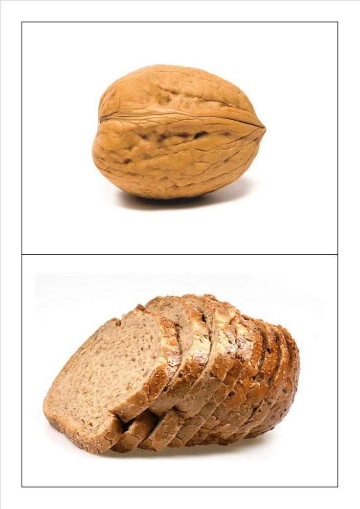 Kringspel rijmen: noot - brood