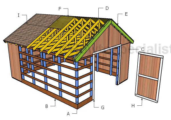 486 Best Outdoor Shed Plans Free Images On Pinterest