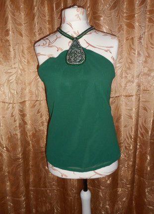 Kup mój przedmiot na #vintedpl http://www.vinted.pl/damska-odziez/bluzki-bez-rekawow/6886582-elegancka-bluzka-z-koralikami