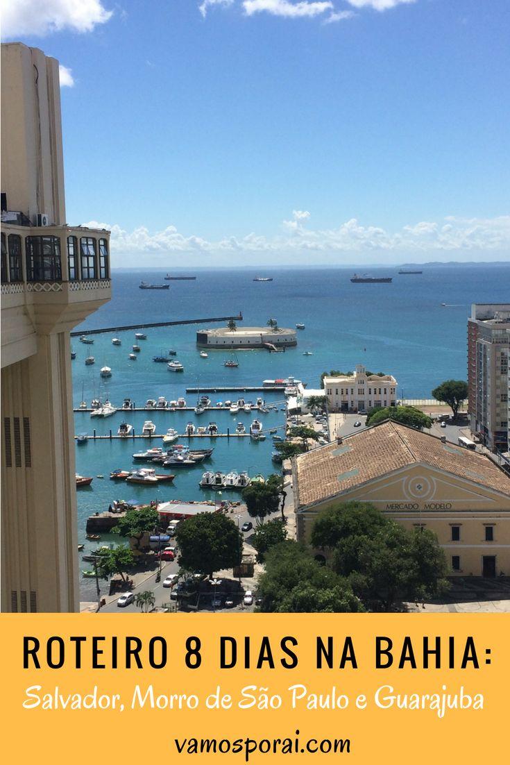 Dicas de hospedagens, passeios e valores de uma viagem de oito dias na Bahia. Nosso roteiro incluiu Morro de São Paulo, Salvador e Guarajuba.