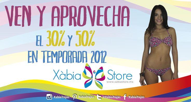 Recuerda que esta semana tenemos el 30% y 50% de #descuento en toda la temporada 2012. Menciona este anuncio y aprovecha la #promoción. #Guadalajara