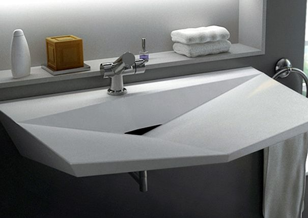 A Set of Fine Bathroom Sinks by Cactus Designers and Vaskéo