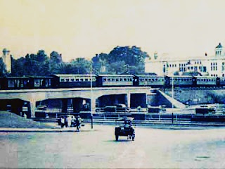 picture of viaduct bandung, the location near Bandung railway station