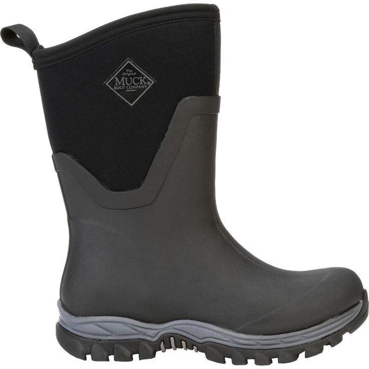Muck Boot Women's Arctic Sport II Mid Winter Boots, Size: 11, Black #MuckBoots