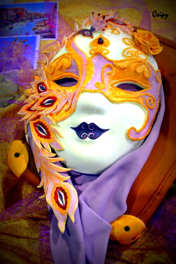 Carnevale di Venezia. It's a cake in competition of confectioners. :) What a masterpiece!!!