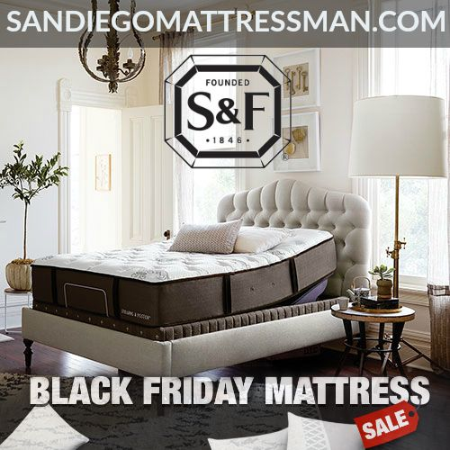 Stearns Foster Mattress 2017 Black Friday San Go Same Day