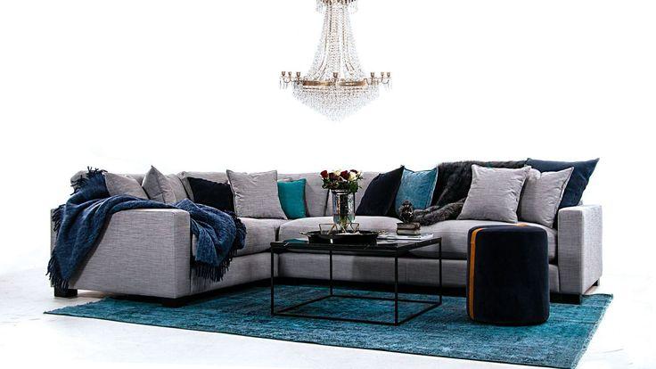 Valen - L-soffa i Linne