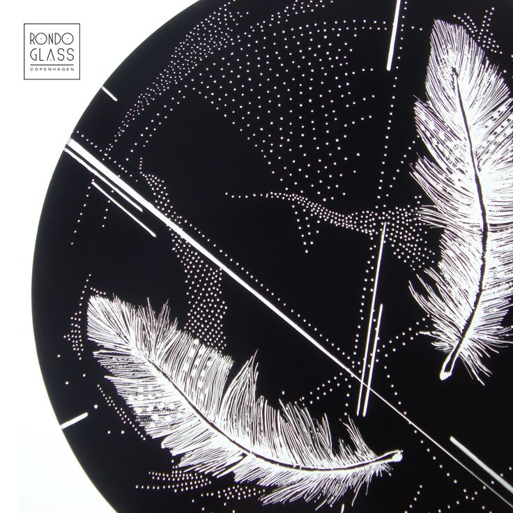 #glass, #feathers, #design,  m i c r o s p a c e glass pendant by RONDO GLASS http://rondoglass.wix.com/rondoglass