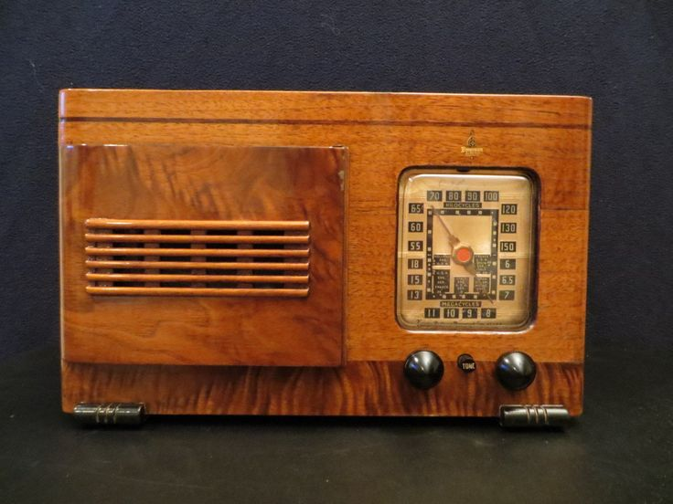 Vintage 1930s old emerson rare ingraham cabinet radio amp for Classic house radio