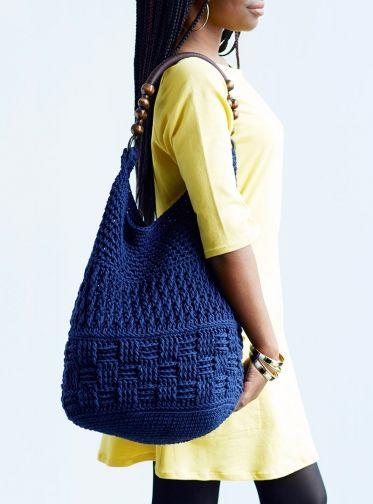 Crocheted Summer Bag by Edie Eckman - Creativebug