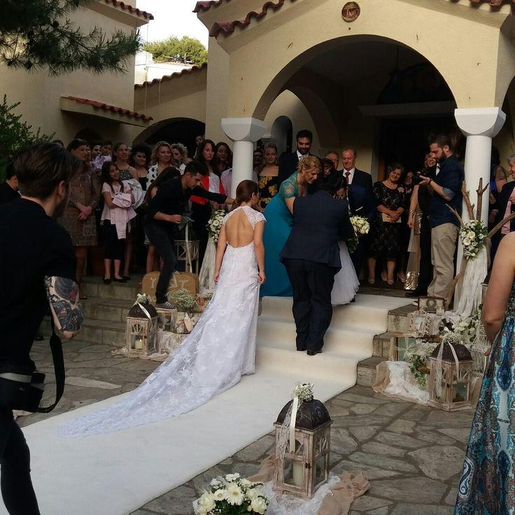 Διακόσμηση γάμου στην Αγία Αννα στην Πολιτεία!