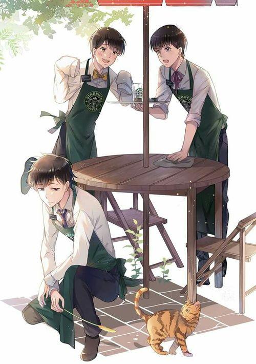 Image de ichimatsu, osomatsu-san, and todomatsu