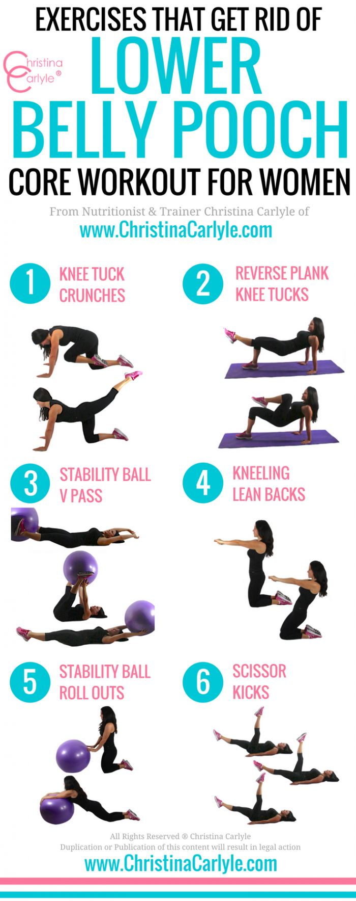 exercises that get rid of lower belly fat - Christina ...