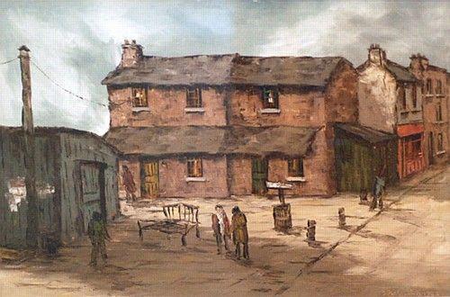 Tom Cullen 'Anglesea Street Dublin' #art  #IrishArt #city #painting #DukeStreetGallery