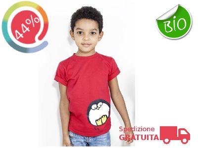 2 Magliette in cotone organico a solo €20 (spedizione gratuita) 3 Magliette in cotone organico a solo €26 (spedizione gratuita) Per la Famiglia :)