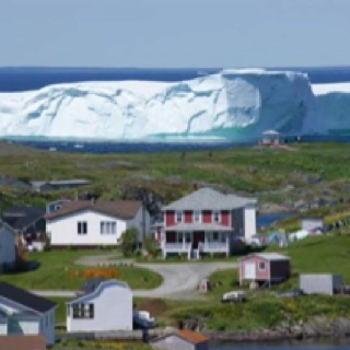 This place is spectacular:  St Anthony, Newfoundland...Iceberg alley.