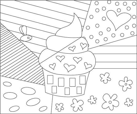 100 best images about Risco de cupcake e sorvete on Pinterest