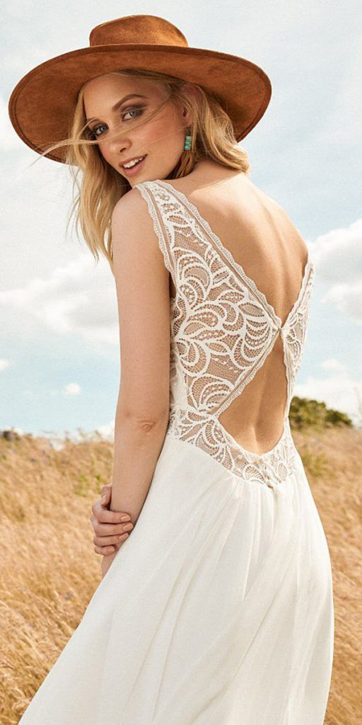 24 Lovely Lace Back Wedding Dresses