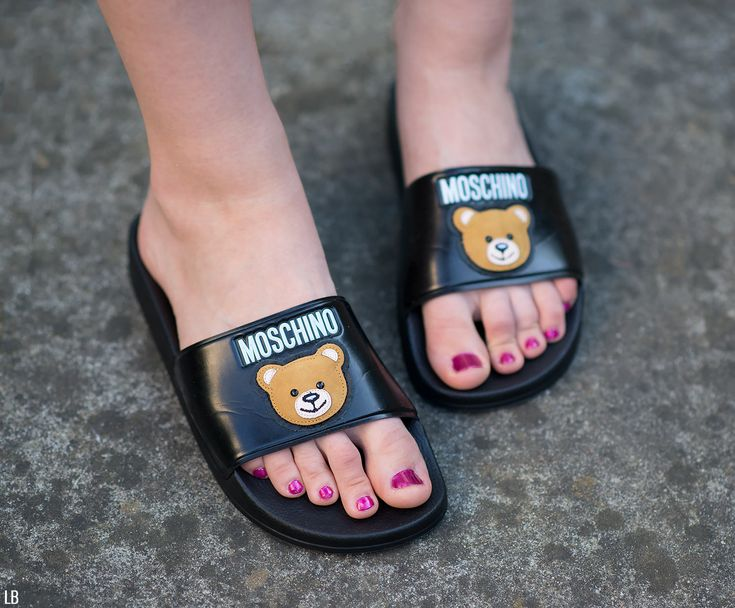 Moschino Teddy Bear Slides Review