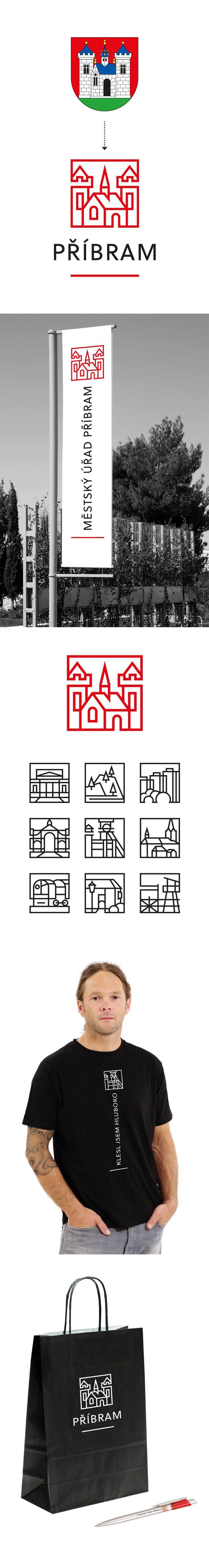 Příbram City New Logo & Identitny