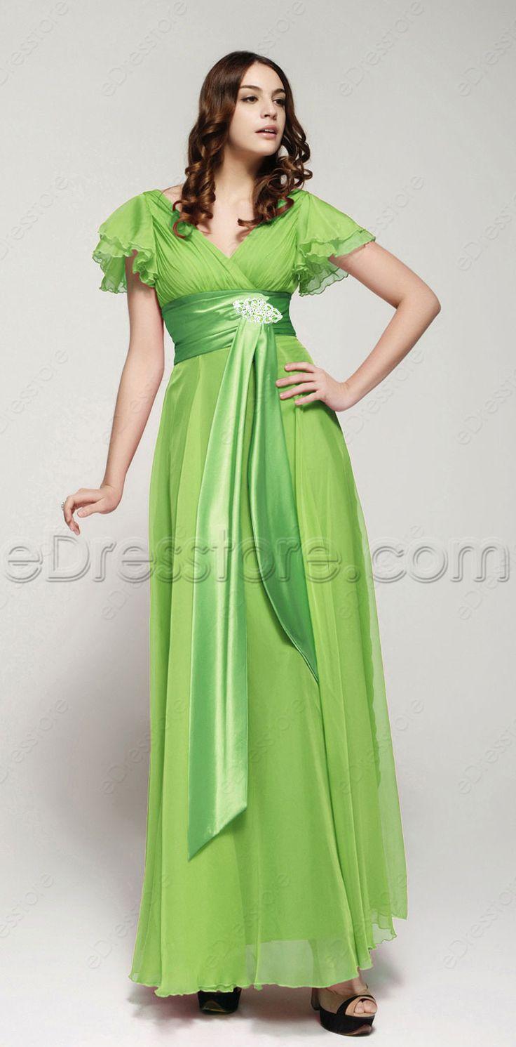 Neon green homecoming dresses
