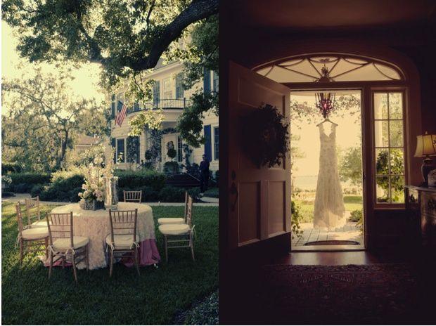 166 best At Home Weddings images on Pinterest | Backyard wedding ...