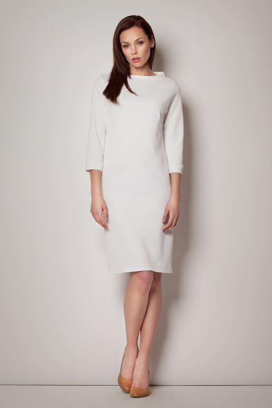White Jackie's Kennedy style dress